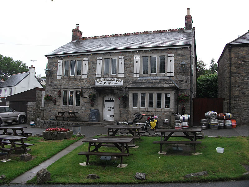 The Blisland Inn. A must for any lover of authentic and original pubs.
