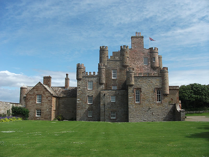 Castle Mey. The Queen Mother's hidey hole.